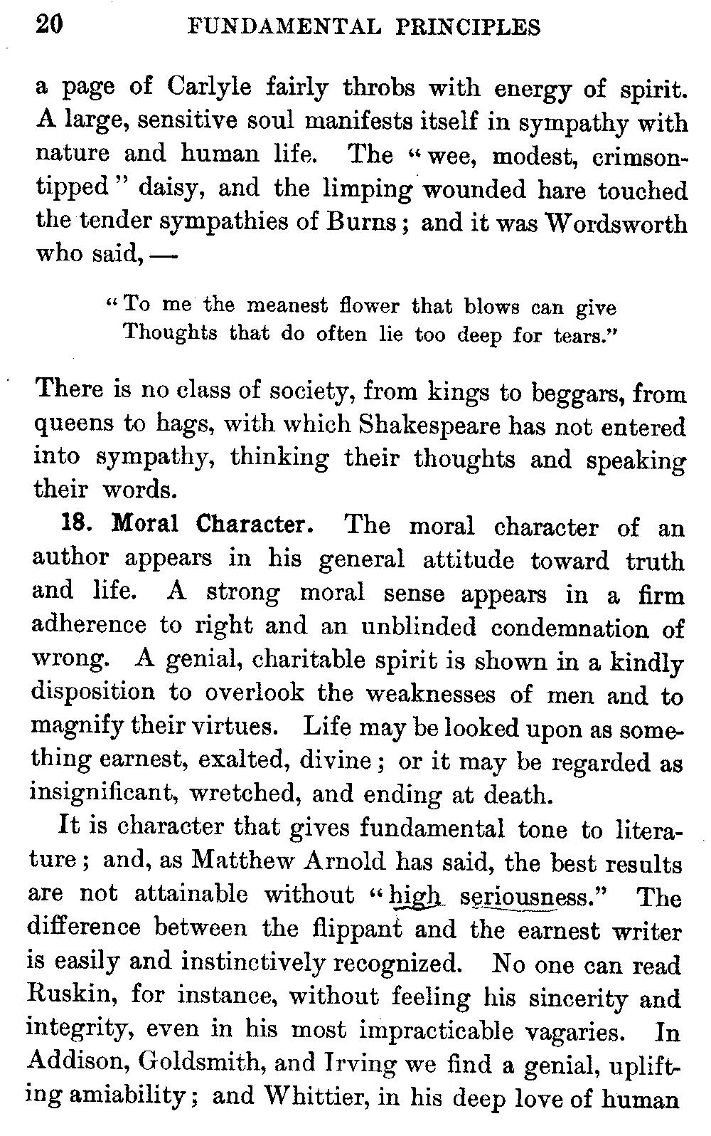 ambition should be made sterner essay